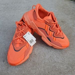 Men's Adidas Originals Ozweego 10.5 Coral Orange